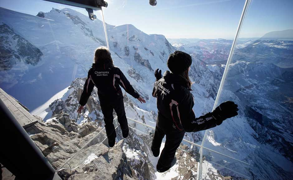 Step into the Void french alps most insane photos