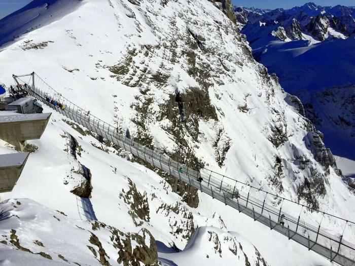 Titlis Cliff Walk most insane photos