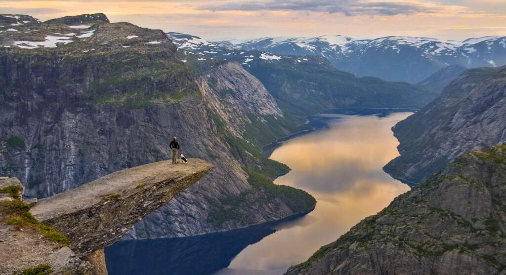 Trolltunga Cliff most insane photos