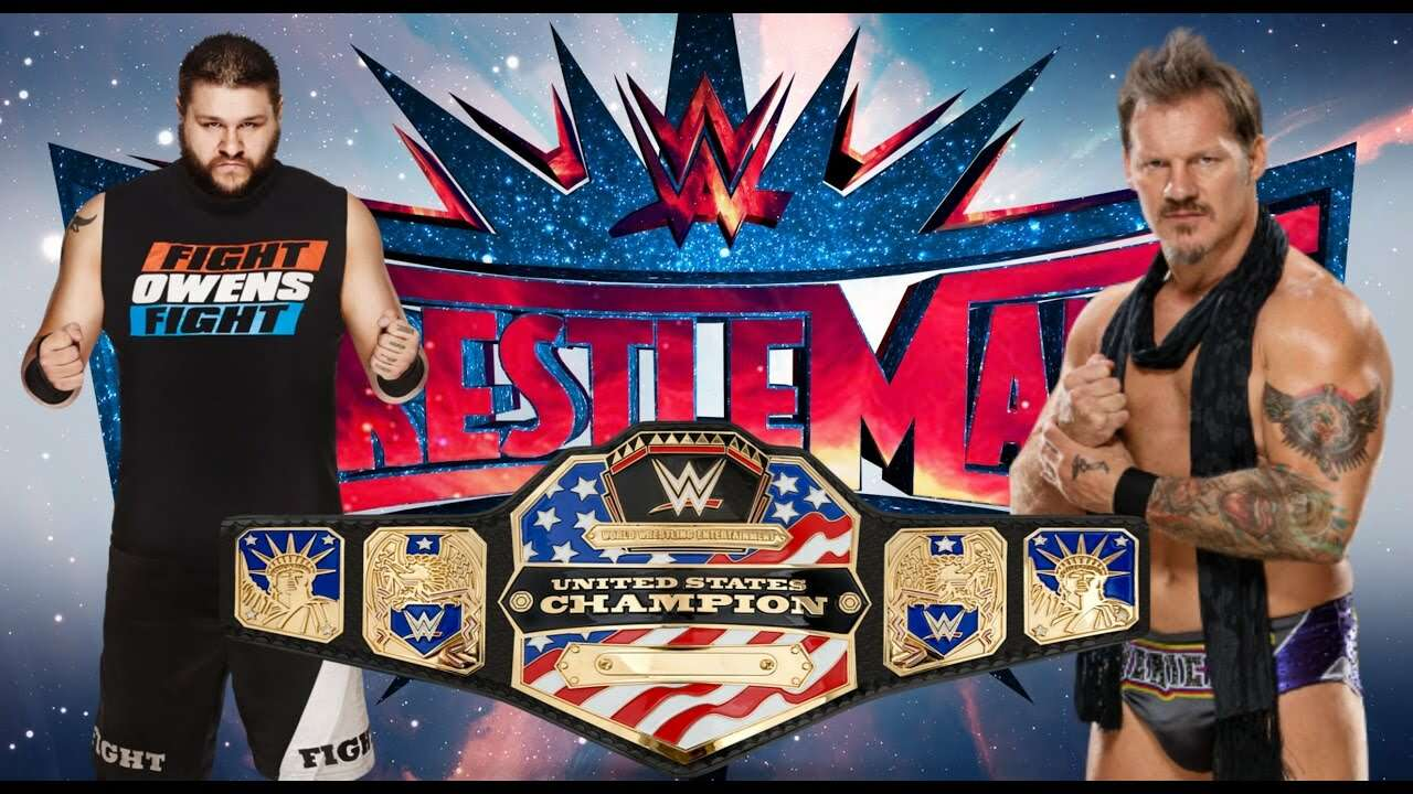 chris jericho kevin ownes wrestlemania 33