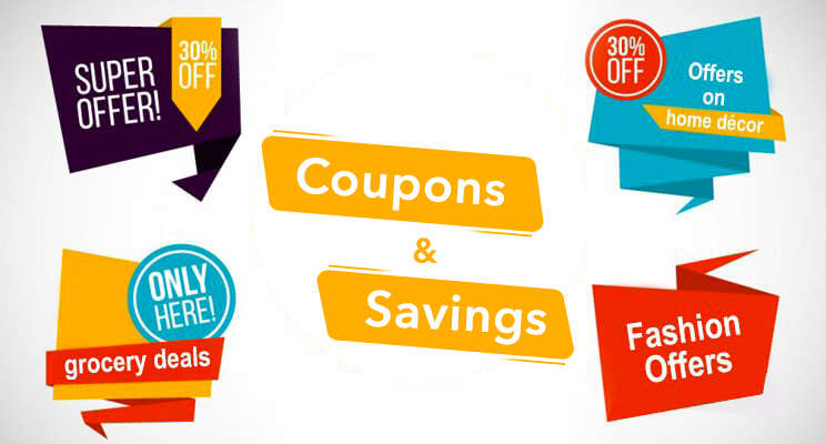 coupons & savings