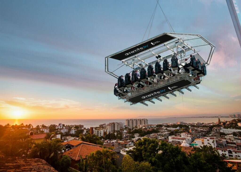 dinner in the sky most insane photos