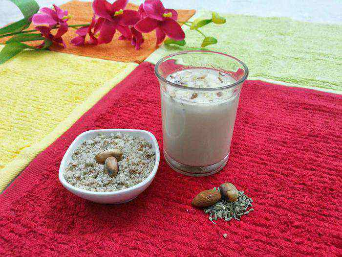 holi recipes bhang special thandai