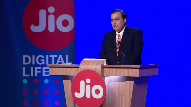 jio recharge mukesh ambani speech