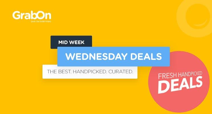 midweek wednesday deals GrabOn