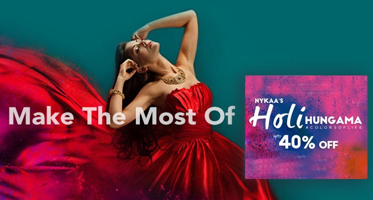 Nykaa Holi Hungama: Get A Splash Of The Best Discounts & Offers