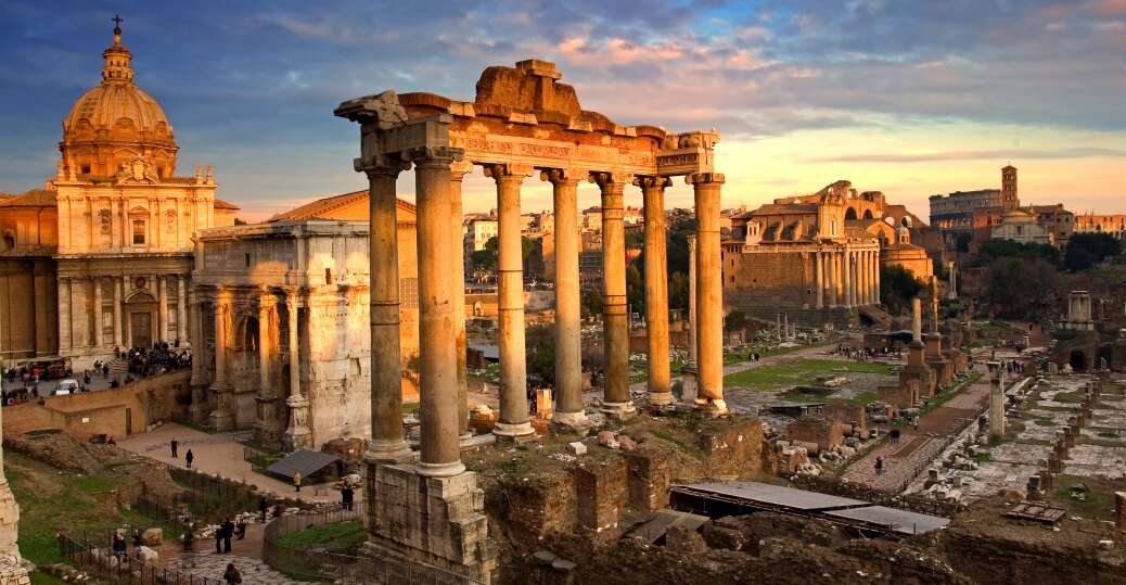 roman forum 3 week itinerary london paris italy