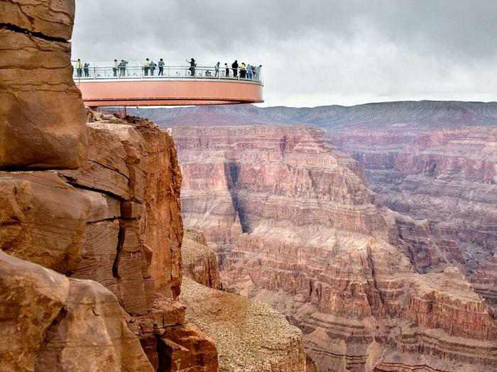 skywalk grand canyon arizona most insane photos