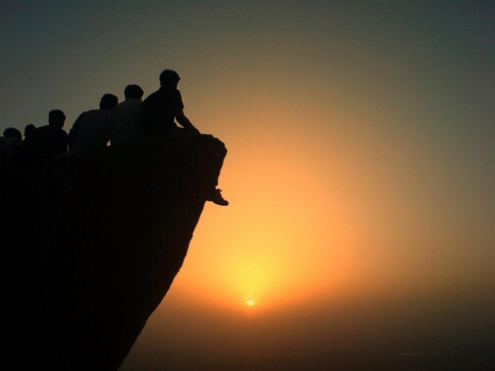 sunset point mount abu road trips in india