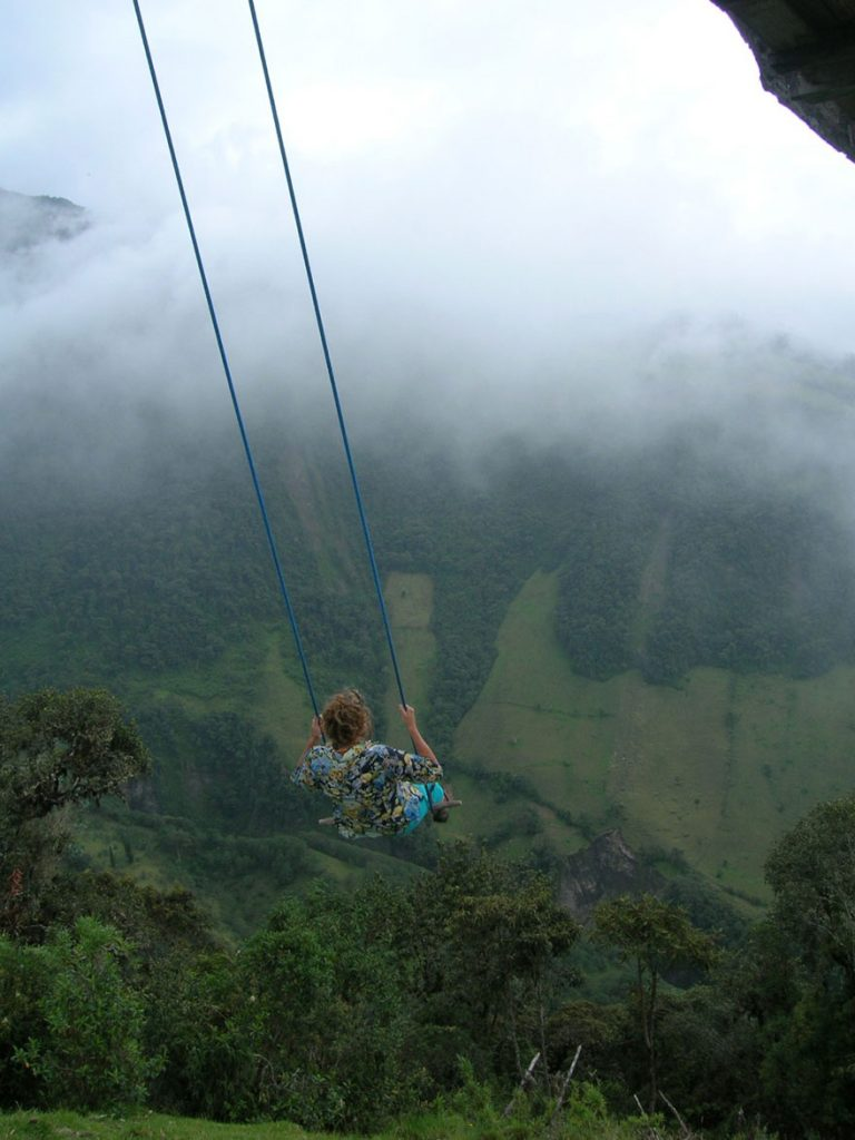 swing at the end of the world casa del arbol most insane photos