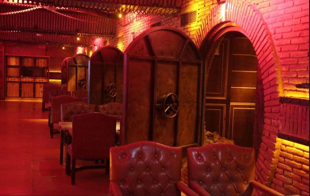 the vault cafe theme restaurants delhi