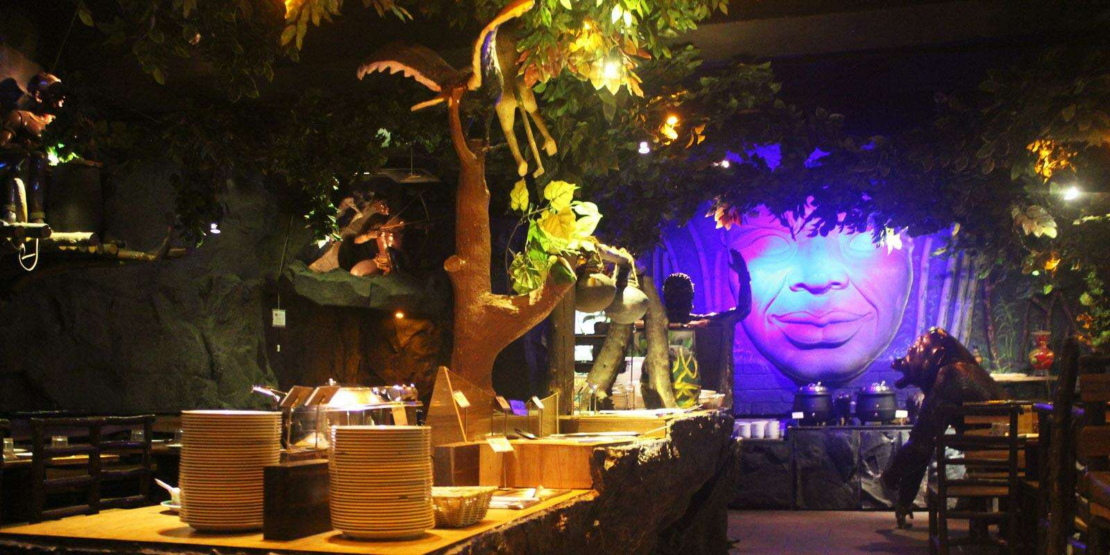 theme restaurants delhi