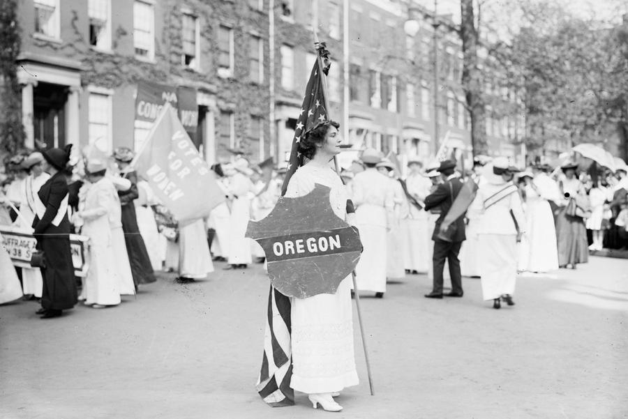 happy womens day - suffrage parade