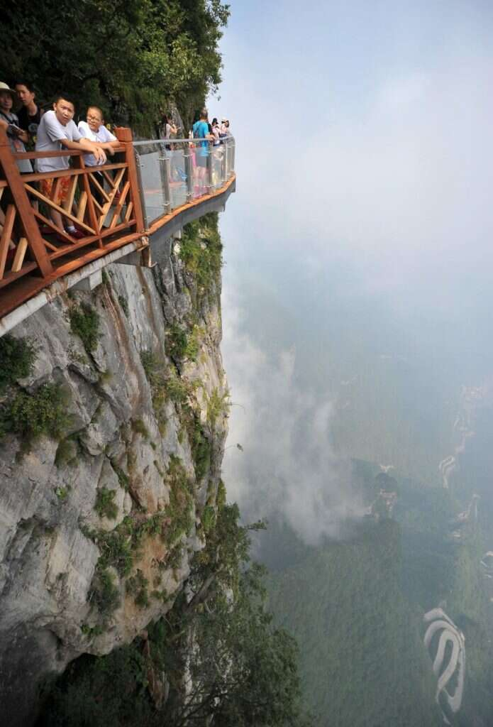 zhangjiajie national forest park china most insane photos