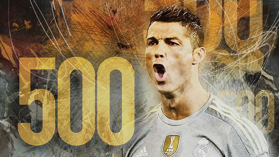 Cristiano Ronaldo the legend 500 goals)