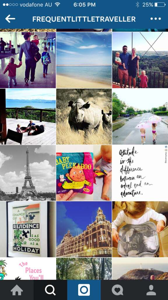 Instagram travel accounts marketing tool