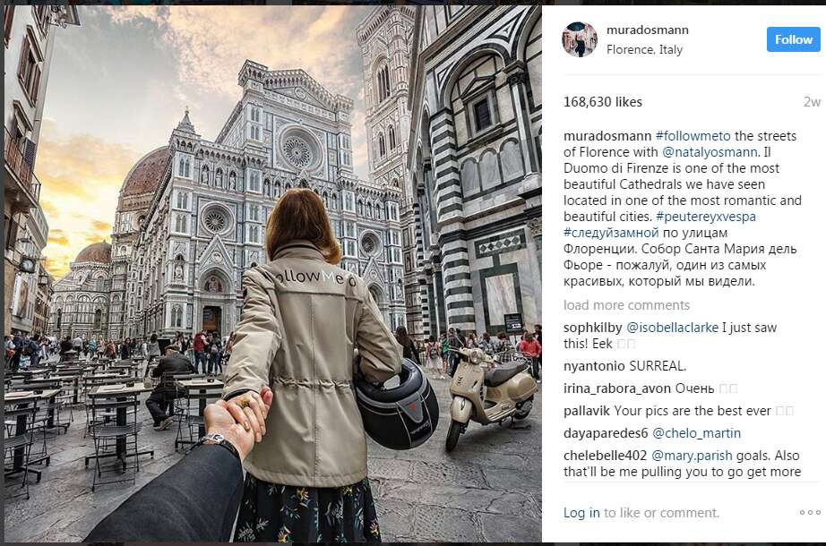 Instagram travel accounts murad