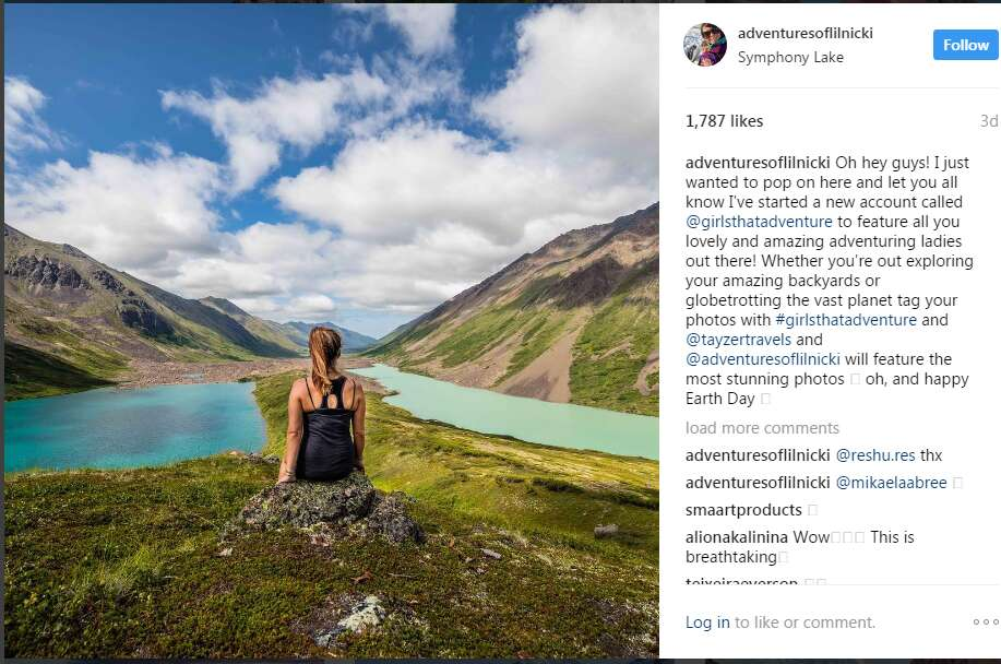 Instagram travel accounts nicole smoot