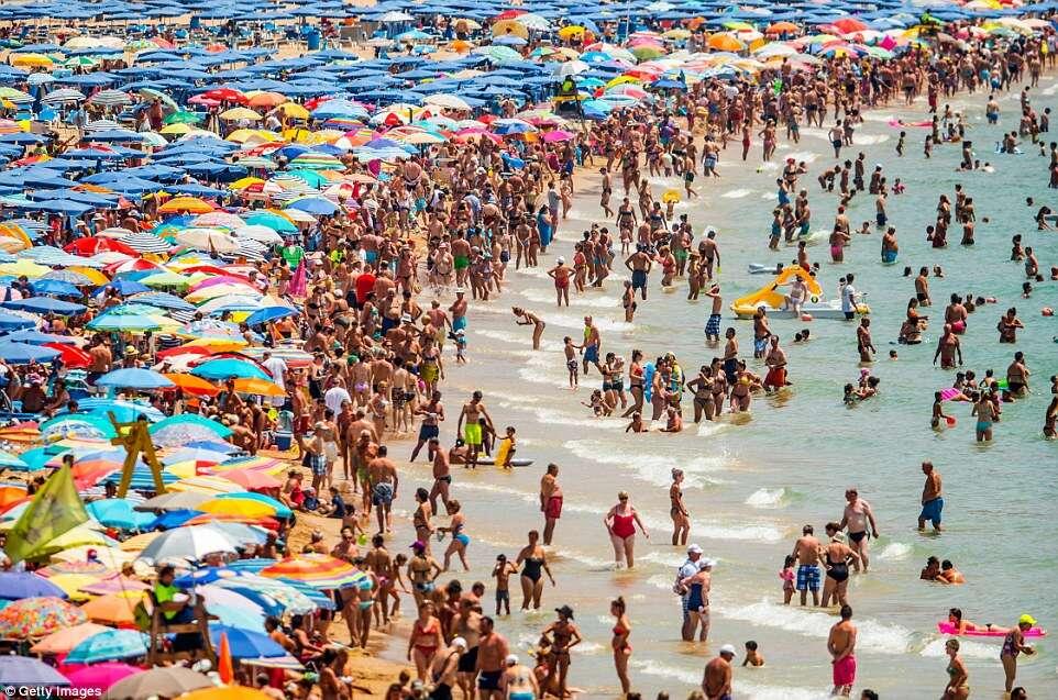 Salou beaches PortAventura