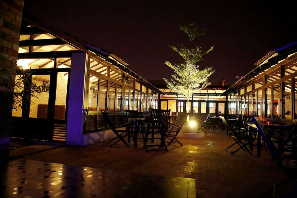 best rooftop restaurants in Hyderabad Pasta Bar Veneto