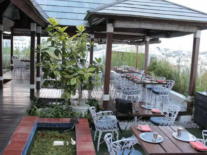 best rooftop restaurants in Hyderabad exotica