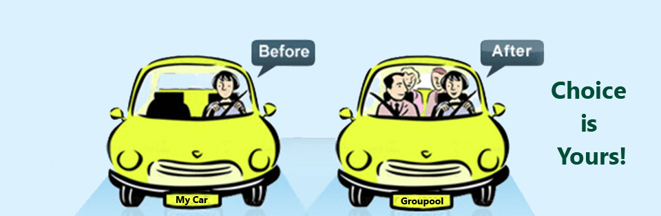 carpool apps in India choice is yours