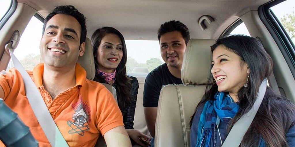 carpool apps in India quickride
