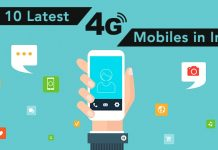 latest 4g mobiles