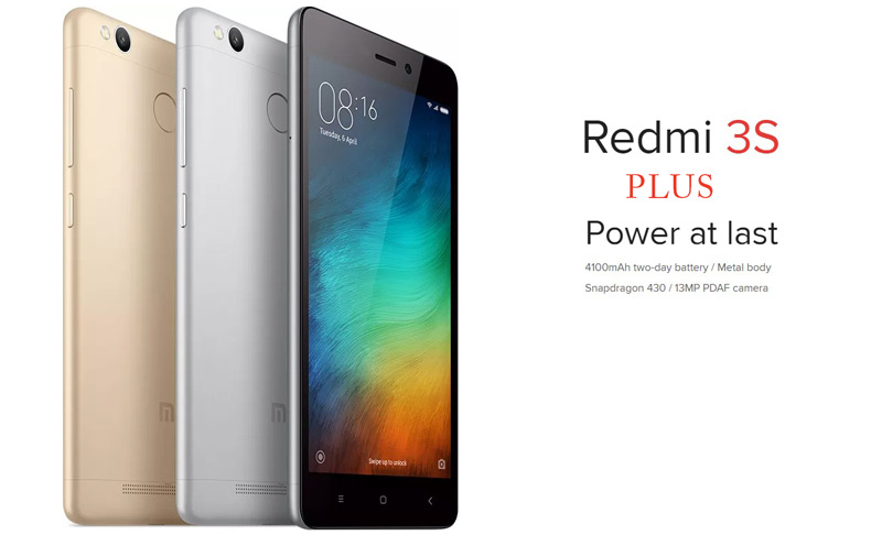 latest Redmi phones under 10000 or 15000 Xiaomi Redmi 3S Plus