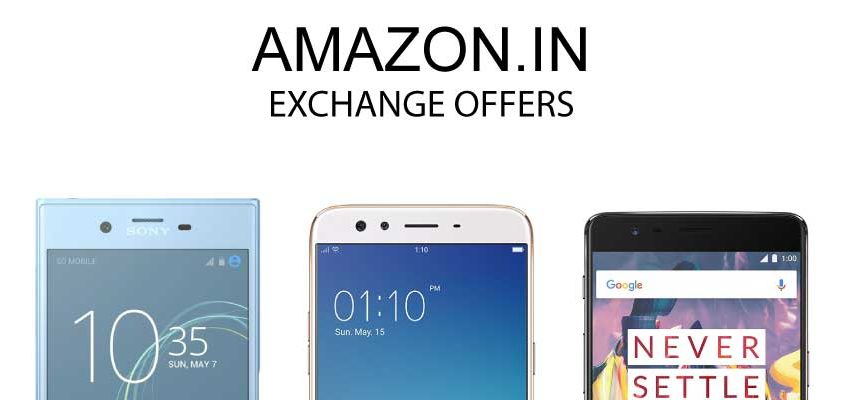 mobile exchnage offers online in India amazon