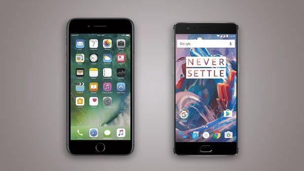 oneplus 3t iphone vs oneplus