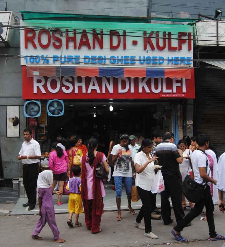roshan da kulfi 6 vintage restaurants in delhi