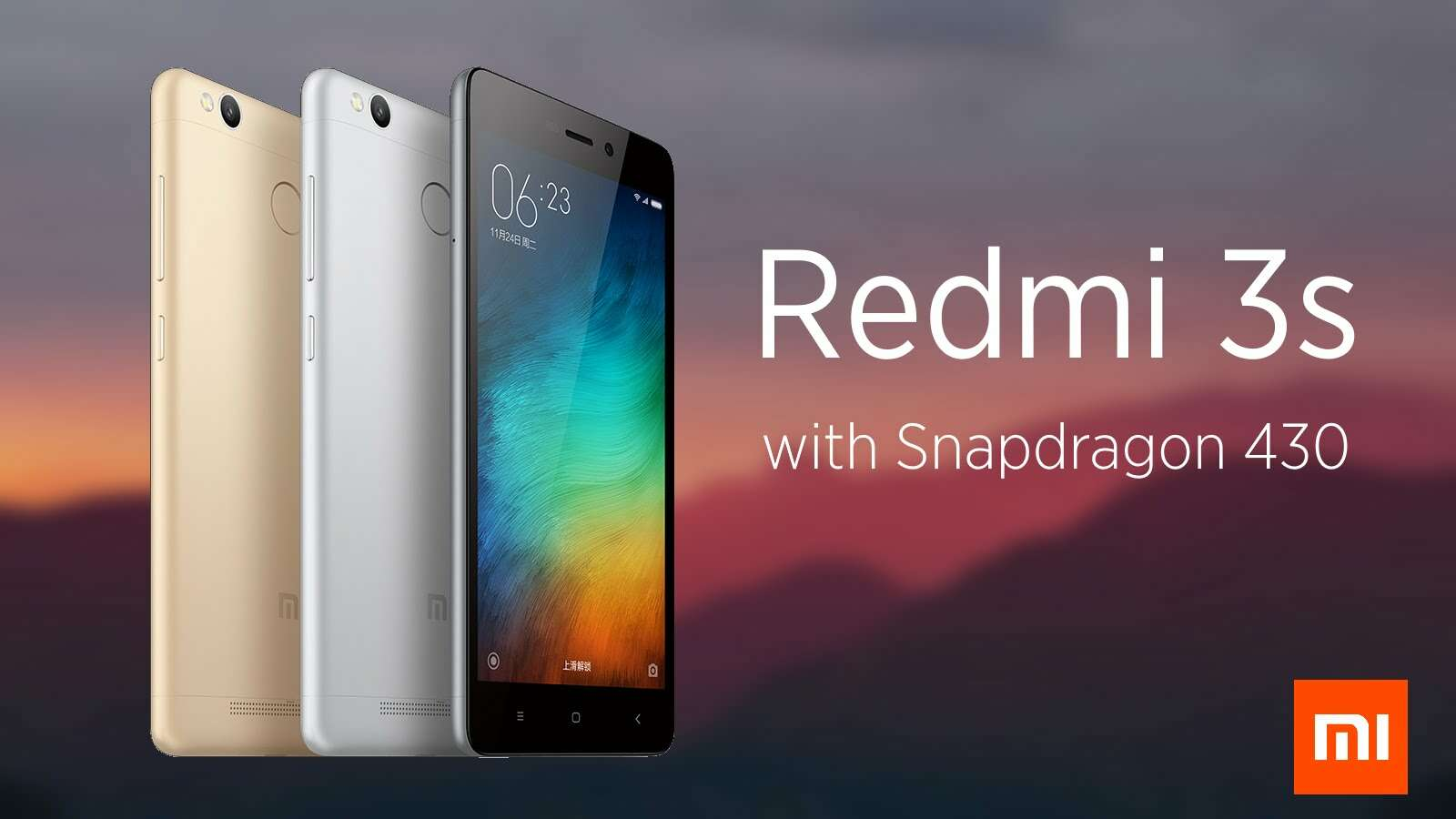 Redmi 3s official firmware