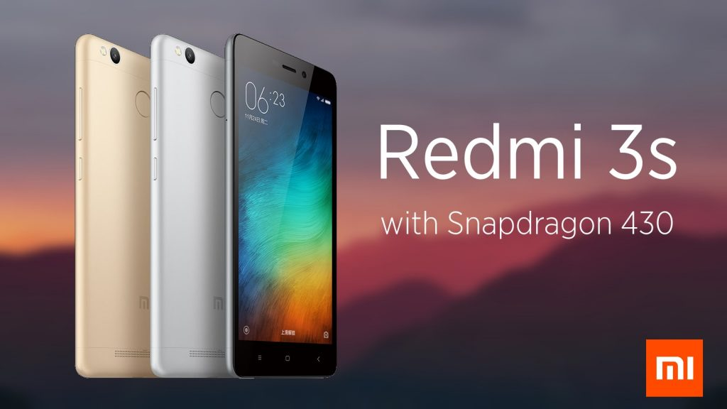 top 10 latest 4G mobiles in India Xiaomi Redmi 3S