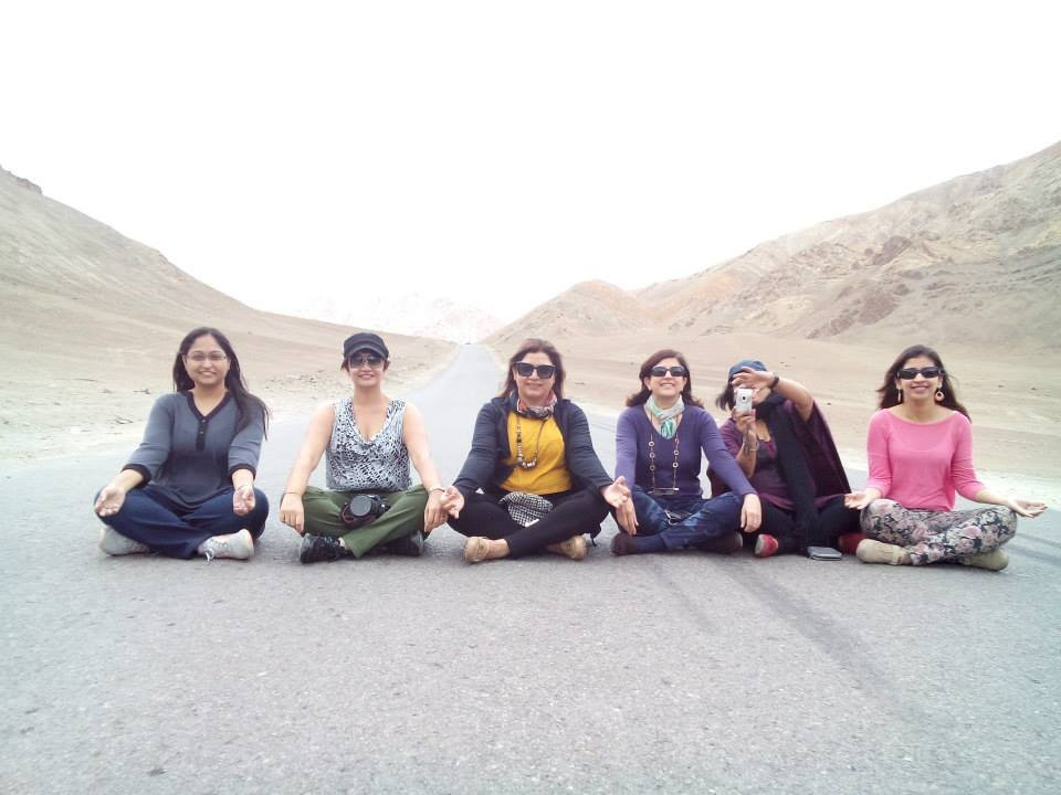 why women only Leh Ladakh trip