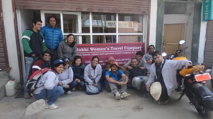 women only Leh Ladakh trip Ladakhi Woman's Travel Company