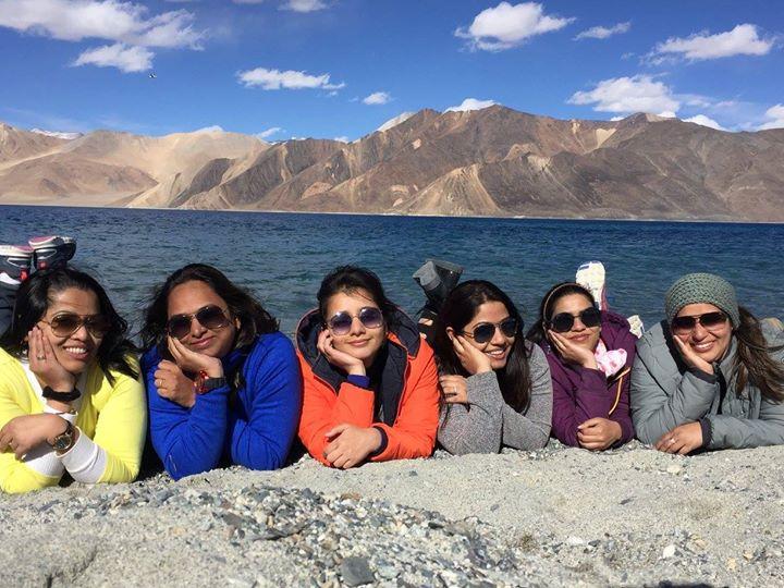 women only Leh Ladakh trip girls on the go