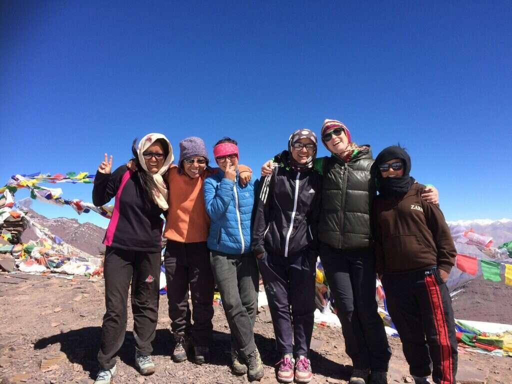 women only Leh Ladakh trip return