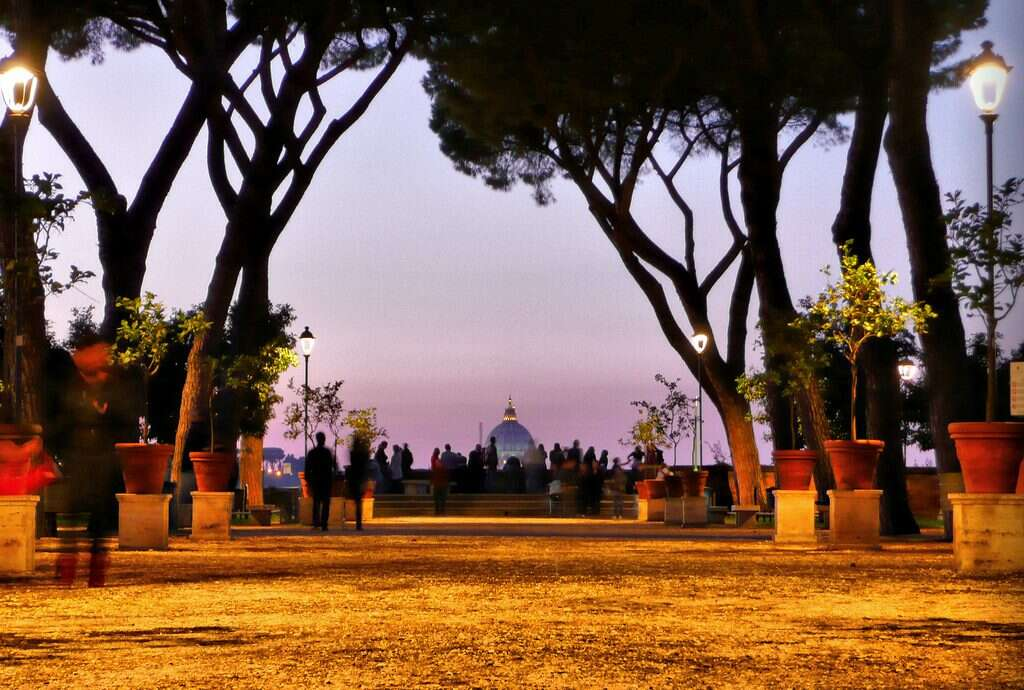 10 offbeat places in rome aventine hill