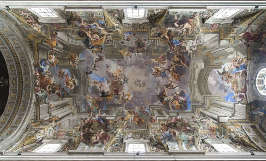 10 offbeat places in rome dome illusion st ignatius tourism