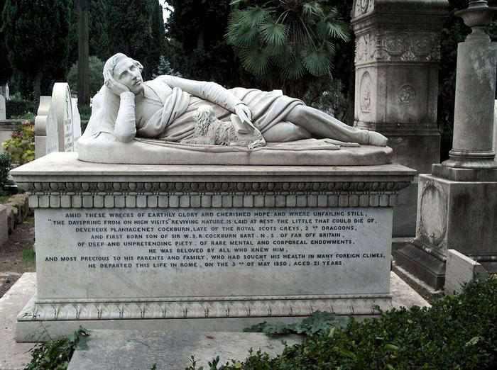 10 offbeat places in rome cimitero acattolico testaccio protestant cemetery