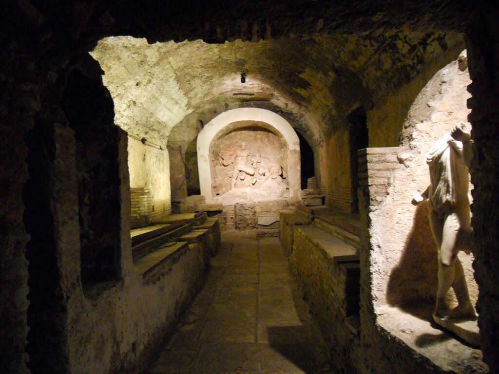 10 offbeat places in rome mithraeum