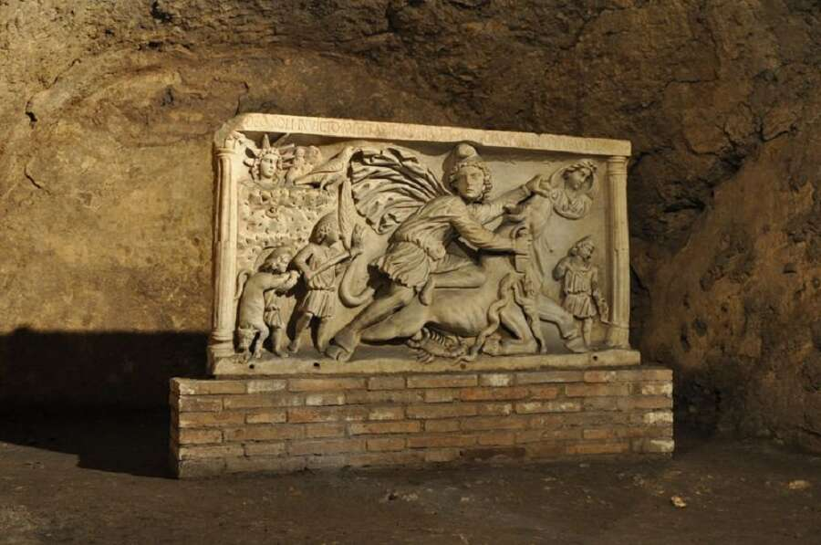 10 offbeat places in rome mithraeum at circus maximus