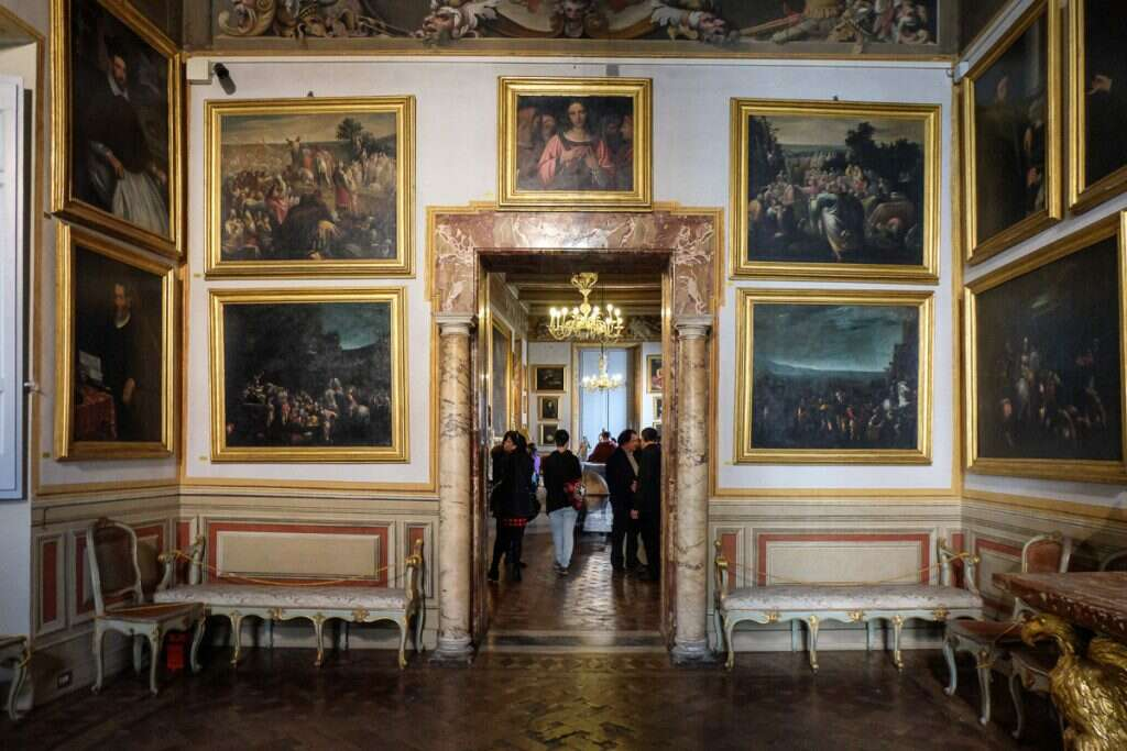 10 offbeat places in rome palazzo spada gallery