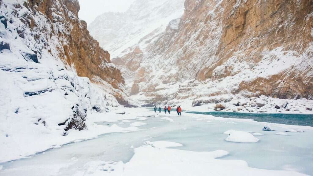 10 places to visit in india before they disappear chadar trek