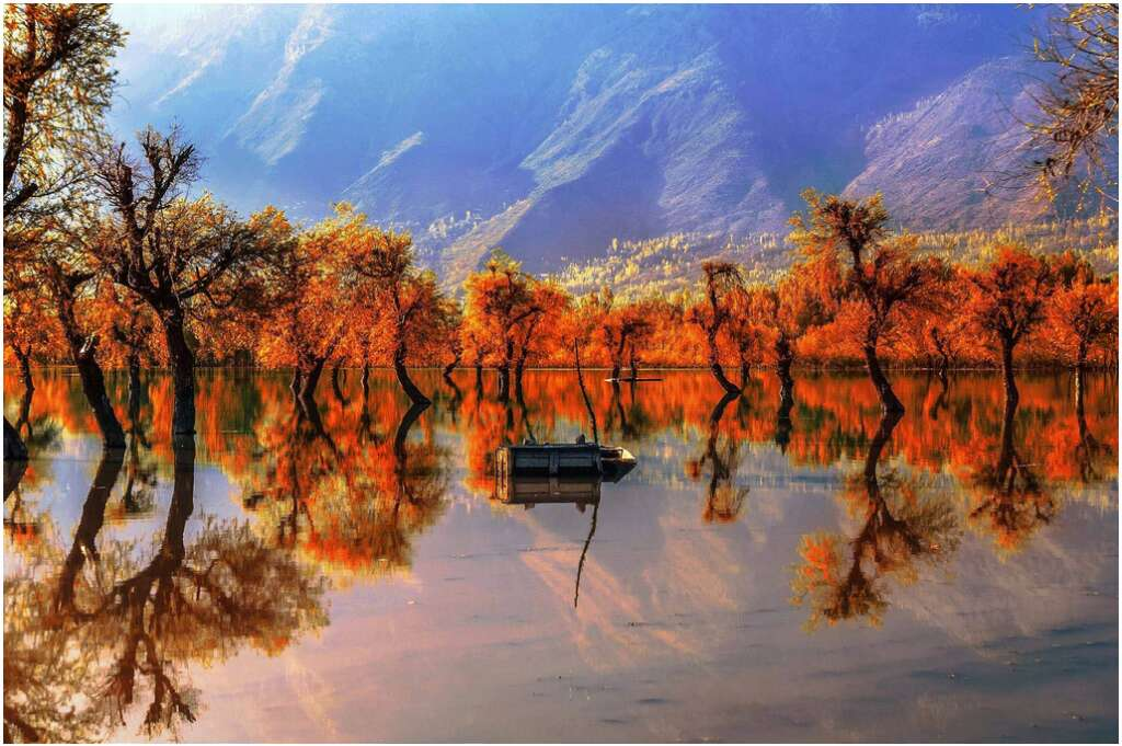 10 places to visit in india before they disappear wular lake fast disappearing