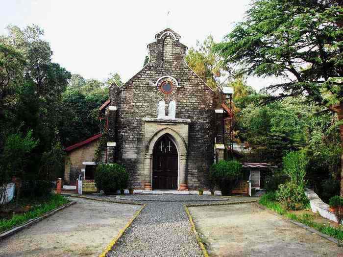 St John Church Lansdowne hill stations near Delhi