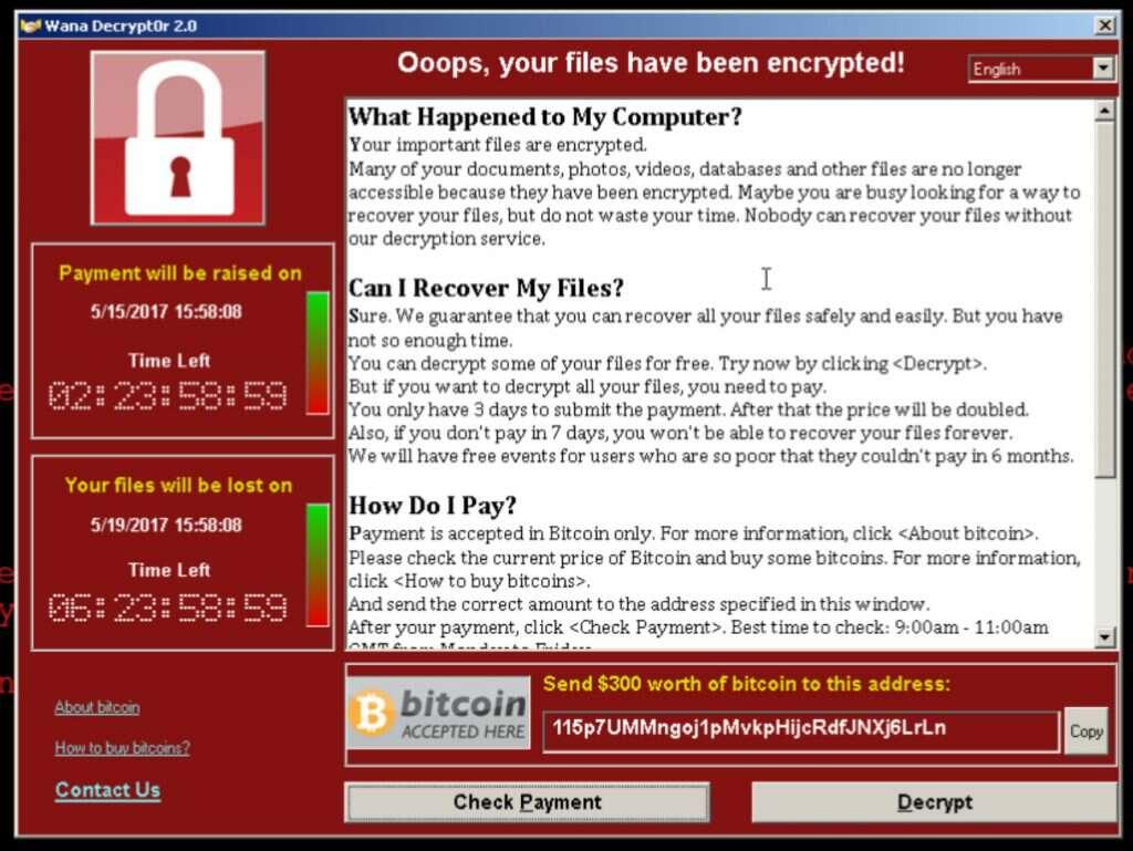 cyber terrorism ransomware statistics