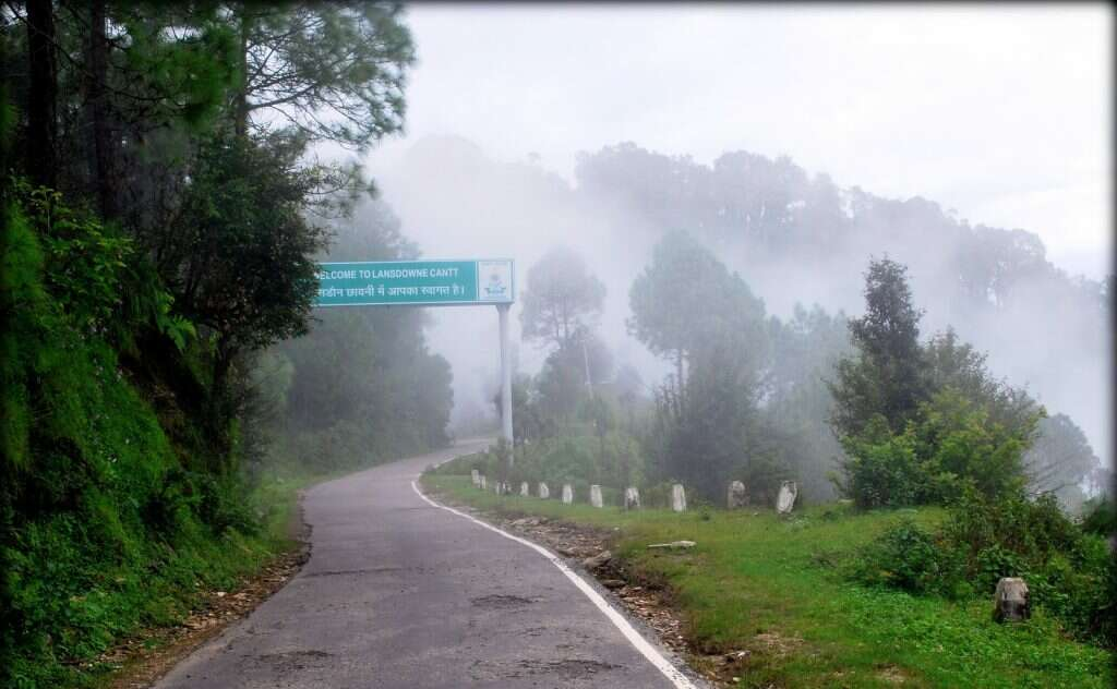 hill stations near Delhi Lansdowne