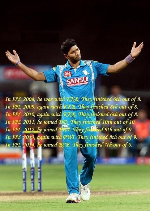 ipl interesting facts ashok dinda